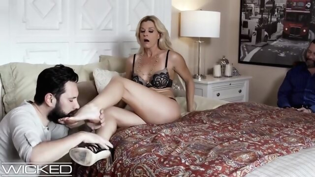Husband Watches Wife.. amateur blonde cuckold