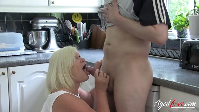 AgedLovE Lacey Starr.. blowjob hardcore mature