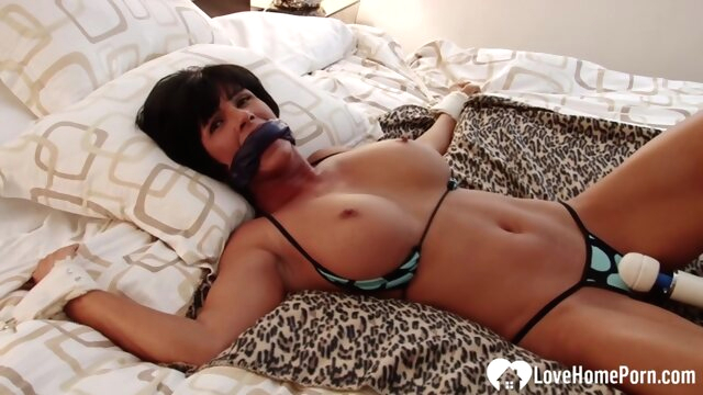Bound stepmom with big.. amateur bdsm big tits